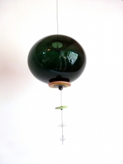 suspension bulle verte